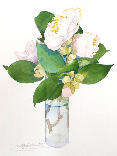 Gary Bukovnik, 'Camellias III'
