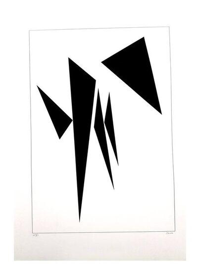 Geneviève Claisse, 'Geneviève Claisse - Kinetic Composition II - Original Signed Lithograph', ca. 2000
