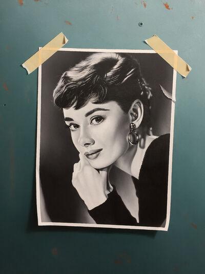 Otto Duecker, 'Audrey Hepburn', 2018