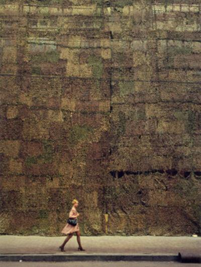 Andrew Moore, 'Street Scene, Woman Walking, Irkutsk', 2003