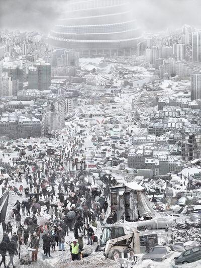 Du Zhenjun, 'Babel Tower-the snow 雪', 2010