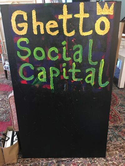 Langston Wesley, 'Ghetto Social Capital', 2017