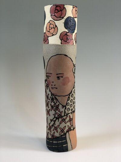 Elizabeth Currer, 'Two Figures on Cylinder', 2018