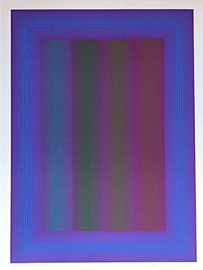Richard Anuszkiewicz, 'Sequential VIII', 1972