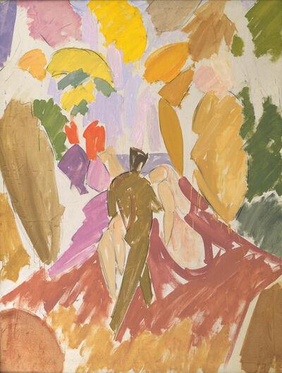Edvard Weie, 'Faun and Nymph', 1940-1941