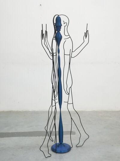 Song Yang, '蓝色重影 Blue Phantom', 2020