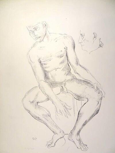 Raymond Veysset, 'Male Nude', Mid 20th Century
