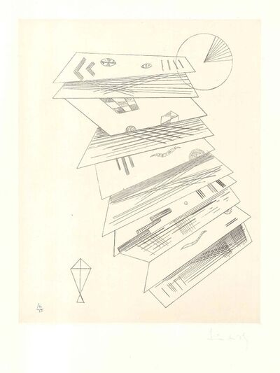 Wassily Kandinsky, 'Composition 2 pour Cahiers d'Art', 1932