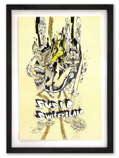 Jim Mahfood, 'Susie Switchblade Remix', 2019