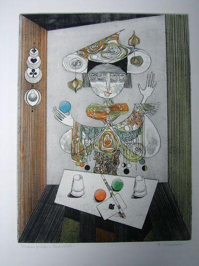 Alfred Finsterer, 'Taschenspieler', 1974