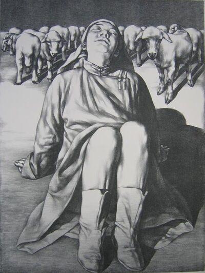 Su Xinping 苏新平, 'Herdswoman', 1996