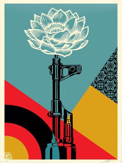 Shepard Fairey, 'AK-47 Lotus', 2021