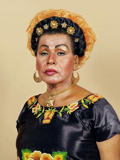 Pieter Hugo, 'Muxe Portrait #3, Juchitán de Zaragoza', 2018