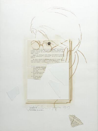 Giulio Paolini, 'Ni le soleil, ni la mort', 1989
