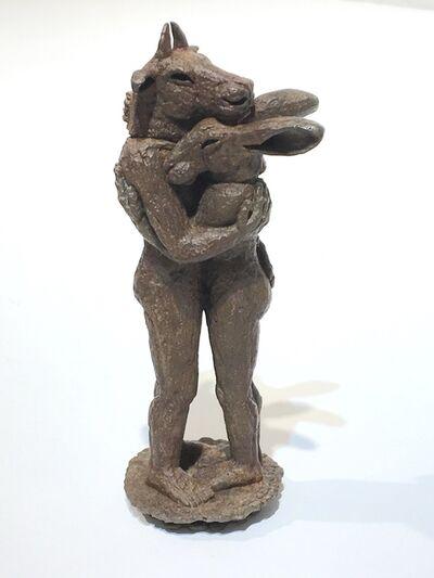 Sophie Ryder, 'Hugging Miniature'