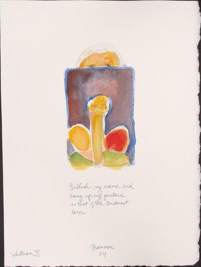John Ransom Phillips, 'Publish my name...', 2004