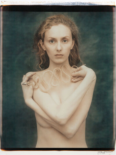 Joyce Tenneson, 'Suzanne with Snake, Part I', 1991