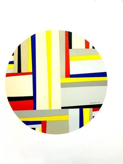 "Fritz Glarner, 'Original Lithograph ""Abstract Composition"" after Fritz Glarner', 1964"
