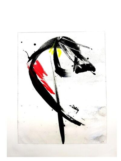 """Jean Miotte, 'Rare Original Aquatint Engraving """"Abstract Composition II"""" by Jean Miotte', 1970s"""