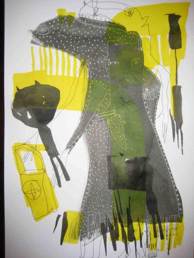 Sibylle Schwarz, 'Yellow Night', 2012