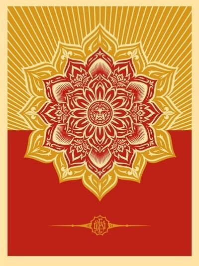 Shepard Fairey (OBEY), 'Holiday Mandala', 2013