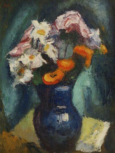 Mauel Ortiz de Zarate, 'Still life of flowers in a vase'