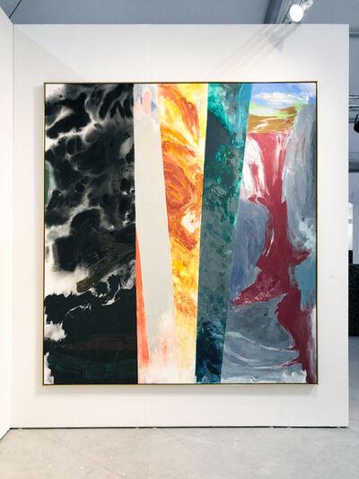 Friedel Dzubas, 'Center Orange ', 1985