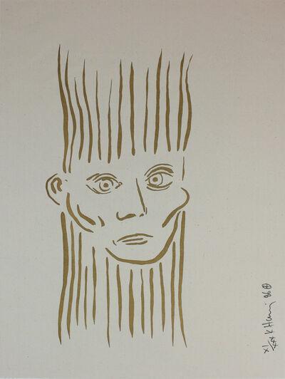 Keith Haring, 'Portrait of Joseph Beuys', 1986