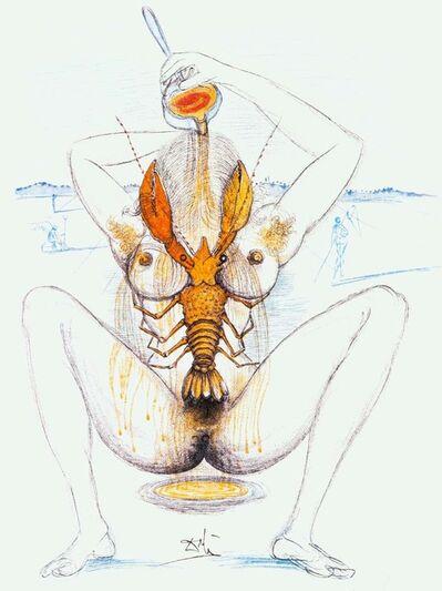 Salvador Dalí, 'Dali Illustrates Casanova', 1980