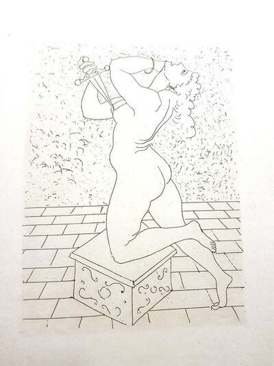 "André Derain, 'Original Etching ""Ovid's Heroides"" by André Derain', 1938"