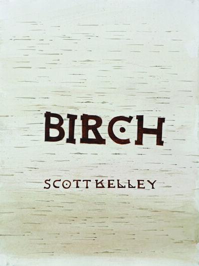 Scott Kelley (b. 1963), 'Birch Title Page'