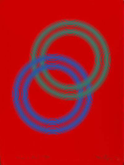 Peter Sedgley, 'Ring-a-rosé', 1991