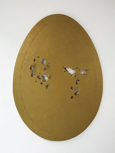 Gavin Turk, 'Holy Egg (Gold)', 2013