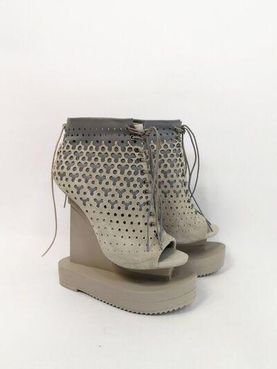 Iris van Herpen, 'Ludi Naturae Shoes creme', 2018