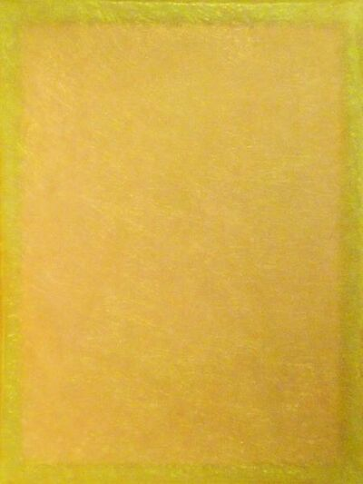 Tom Burrows, 'Yellow/Yellow Diptych 1', 2012