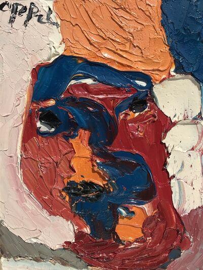 Karel Appel, 'Femme visage', ca. 1976