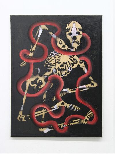 Tom Poelmans, 'Painting beats death', 2017