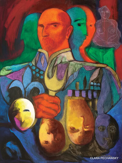 CLARA PECHANSKY, 'THE GOLDEN FORK', 2015