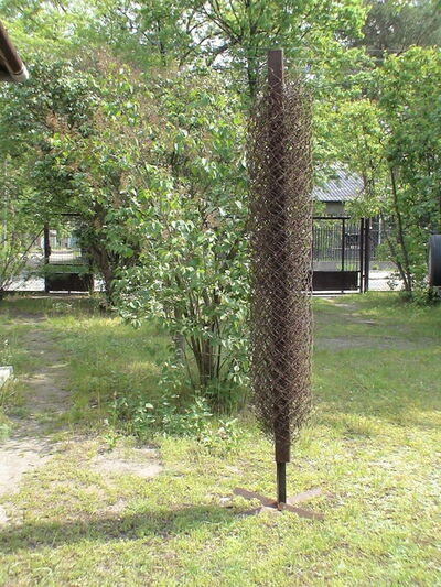 Miroslaw Balka, 'Metalic wire', 2007