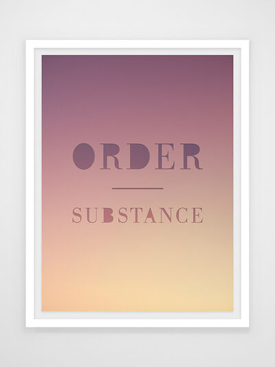 Joseph Desler Costa, 'Order Substance', 2019
