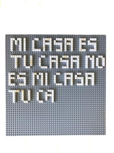 Mariángeles Soto-Díaz, 'Mi Casa Es Tu Casa No Es Mi Casa Tu Ca', 2017