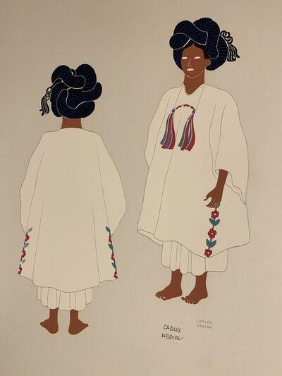 Carlos Merida, 'Yalaltecs of the State of Oaxaca', 1941