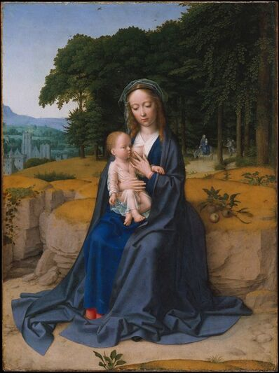 Gerard David, 'The Rest on the Flight into Egypt', ca. 1512–1515