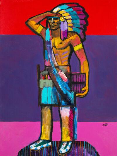 John Nieto, 'Caw Ligah - Wooden Indian', 2016