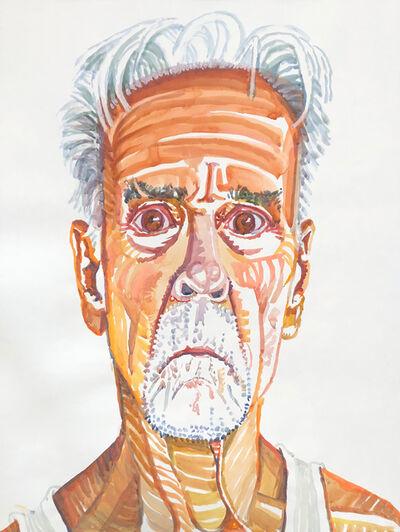 Don Bachardy, 'Self-Portrait', August 23-2016
