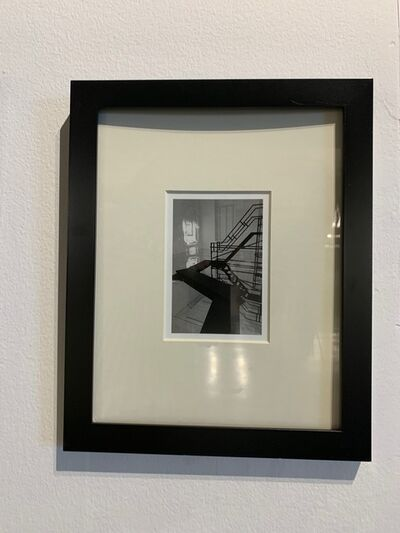 Lj., 'photograph framed in black', 2014