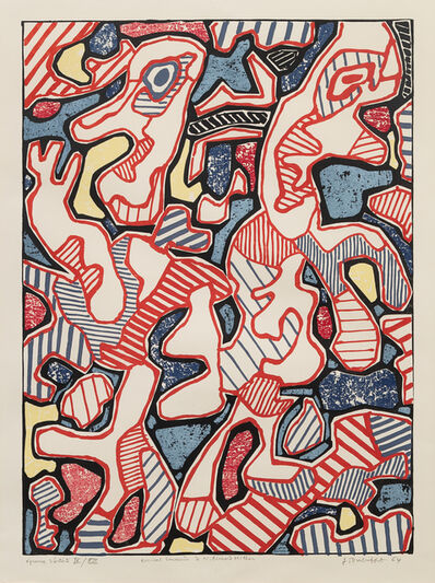 Jean Dubuffet, 'Affairements', 1964