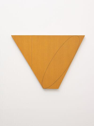 Robert Mangold (b.1937), 'Attic Series III (Study)', 1990