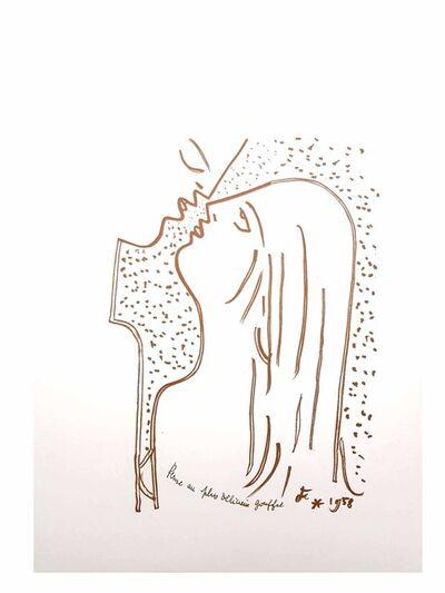 """Jean Cocteau, 'Original Lithograph """"Chasm"""" by Jean Cocteau', 1958"""
