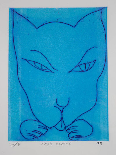 Charles Blackman, 'Cats Claws (Blue)', 0000